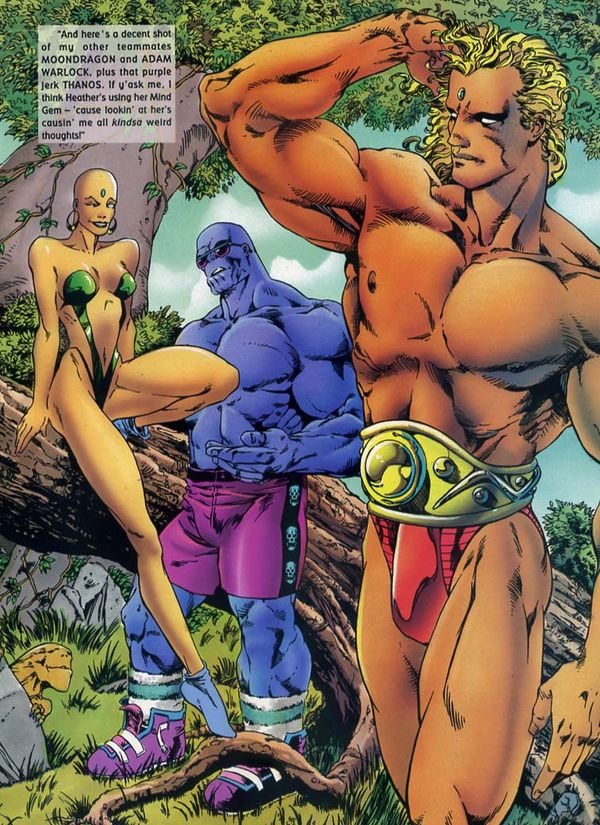 Brownthatbanana Marvel Swimsuit Edition Hot Comic Book -4867