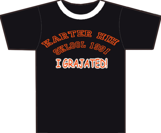 T_shirt_GRAJATED